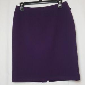Tahari Petite Purple Skirt